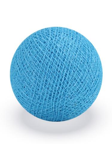 Хлопковый шарик небесно-голубой