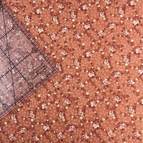 Ткань для пэчворка, хлопок 100% (арт. X0411)