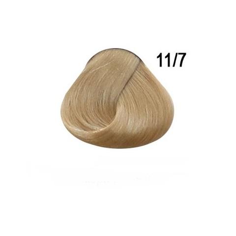 Перманентная крем-краска для волос Ollin 11/7  блондин коричневый