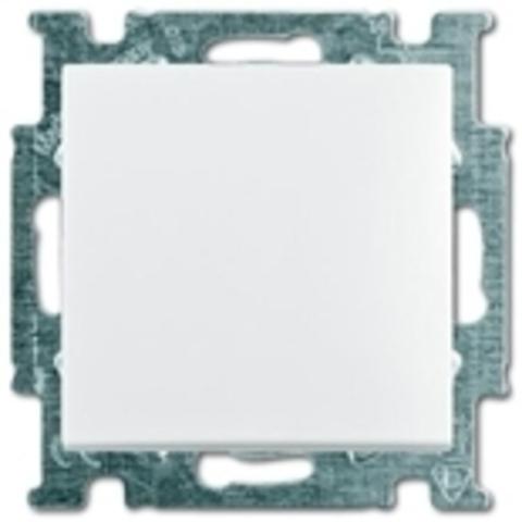 Выключатель одноклавишный. Цвет белый. ABB Basic 55. 1012-0-2139