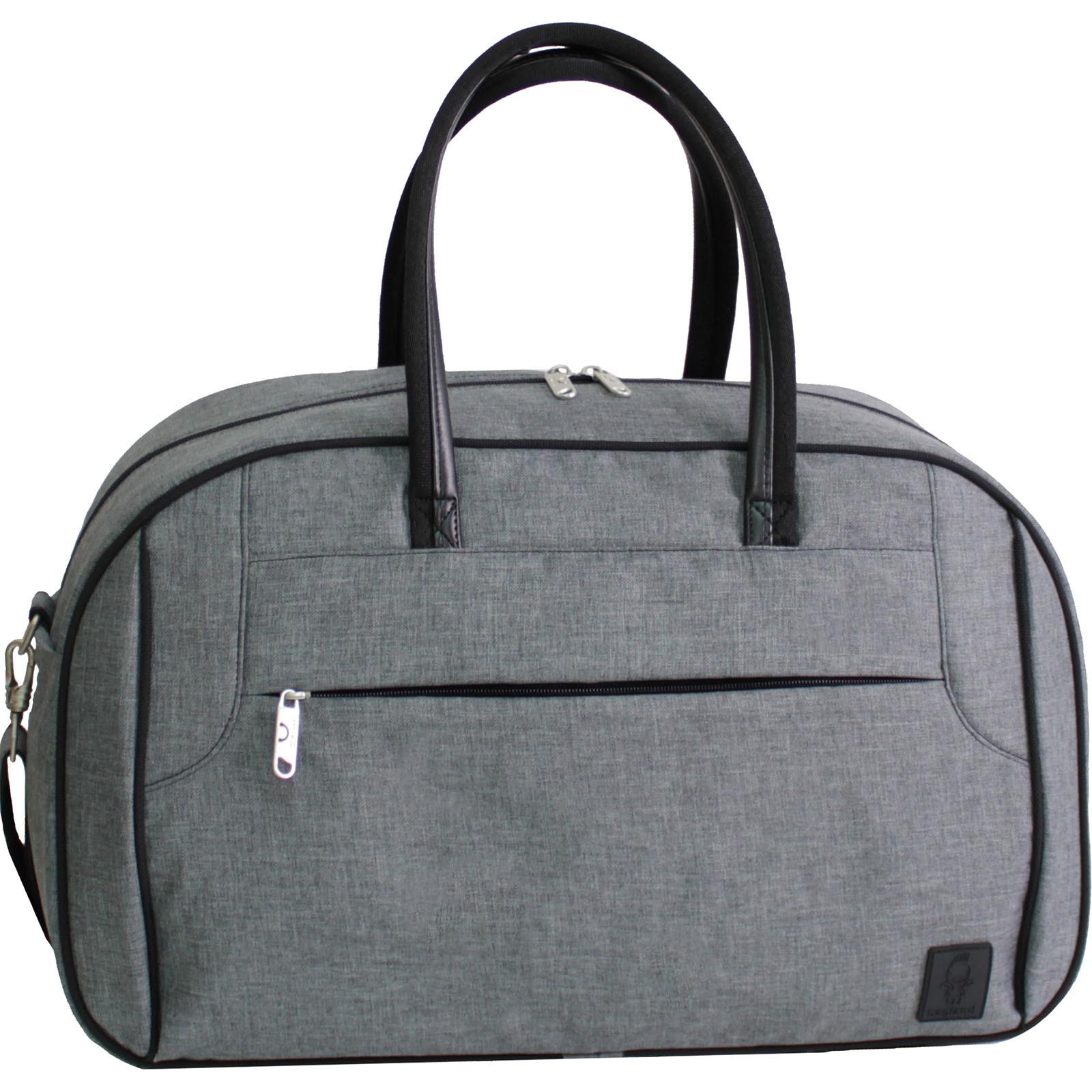 Спортивные сумки Сумка Bagland Тунис 34 л. Серый (0039069) IMG_9141.JPG