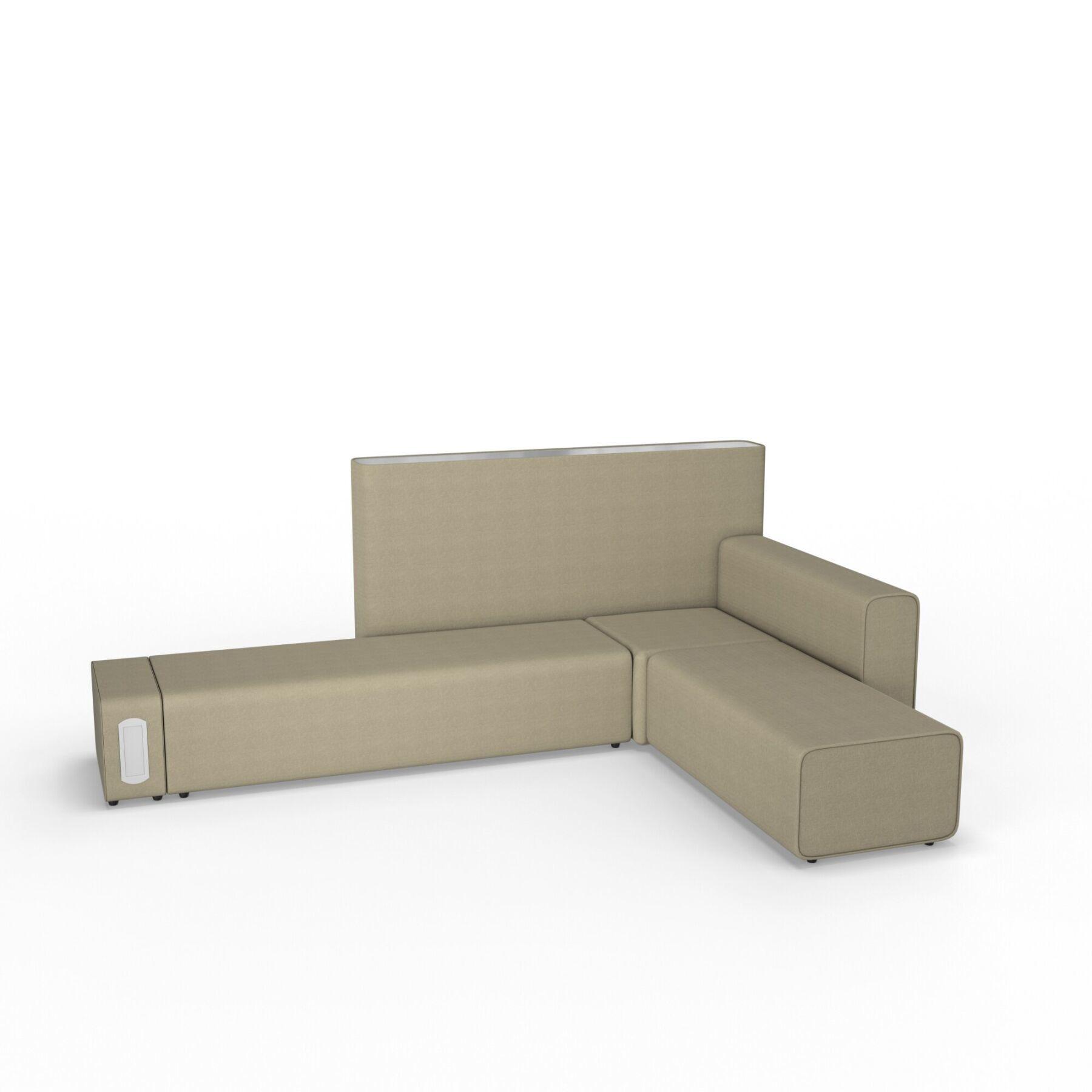 Шестиместный диван KULIK SYSTEM TUBER Ткань Целый