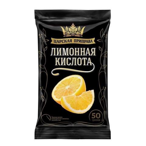Приправа Кислота лимонная Царская приправа, пакет, 50г