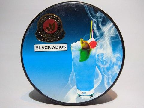 Табак для кальяна AMY GOLD Black Adios 200 gr