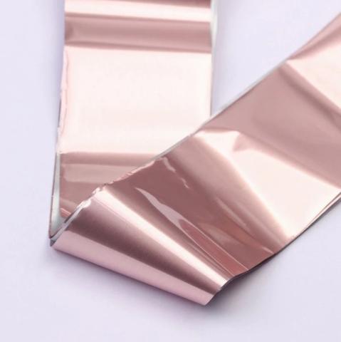 Фольга для дизайна Розовый жемчуг