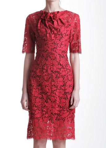 Платье из кружева VDP