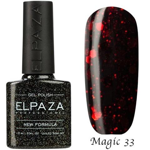 Гель лак Elpaza Magic,ВИШНЕВЫЙ ДЕСЕРТ 33