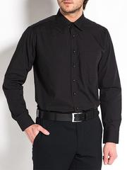 267-5 рубашка мужская, черная