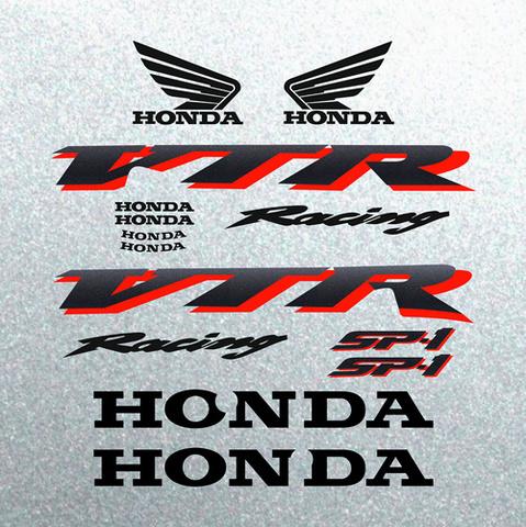 Набор виниловых наклеек на мотоцикл Honda VTR 1000 2001