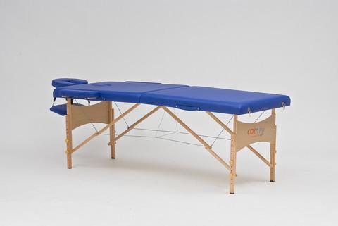 Массажный стол складной деревянный JF-AY01 две секции (МСТ-003Л) - фото
