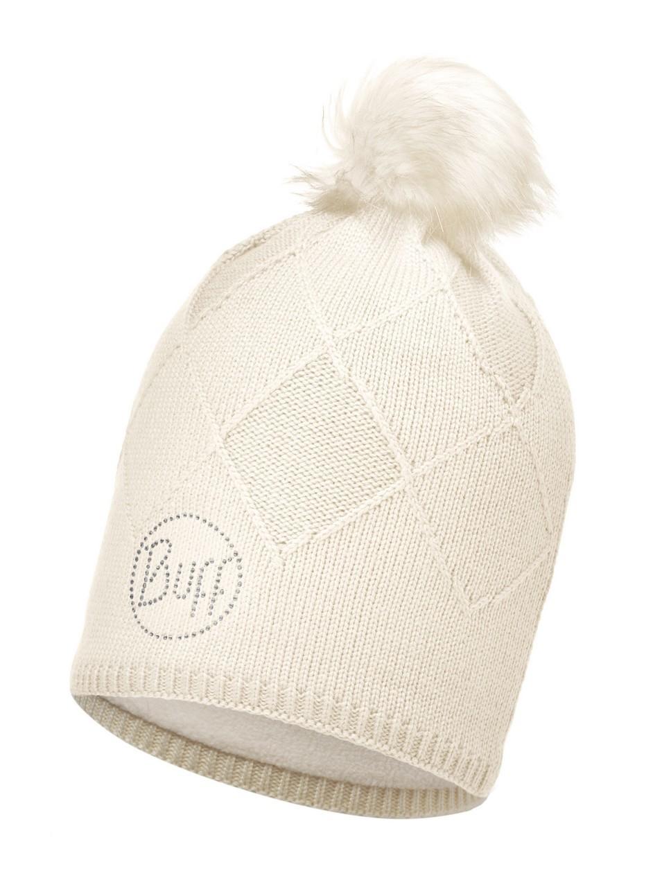 Женские шапки Вязаная шапка с флисовой подкладкой Buff Stella Cru Chic 113523.014.10.00.jpg
