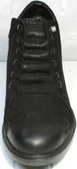 Кожаные ботинки с мехом. Мужские зимние ботинки черные Luciano Bellini WB
