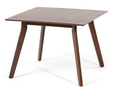 Квадратный обеденный стол Singa из массива гевеи