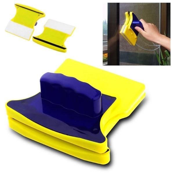 Товары для дома Магнитная щетка для мытья окон с двух сторон Glass Wiper chistka.jpg