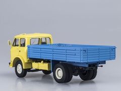 MAZ-500A board yellow-blue 1:43 Nash Avtoprom