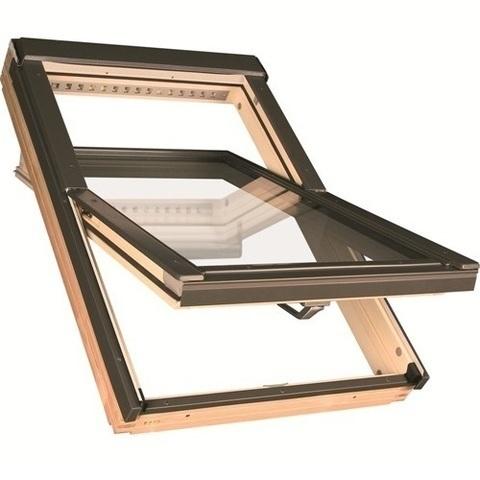 Мансардное окно Факро FTP-V U5 Thermo 55х78