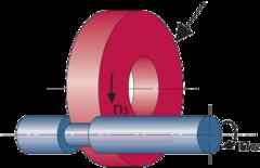 VIB-STAR Прецизионный шлифовальный круг CBN D×T×H (мм) B126 3 мм