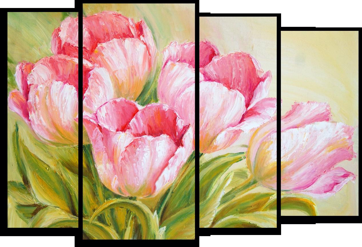 "Цветы Модульная картина ""Небесные тюльпаны"" М779.png"