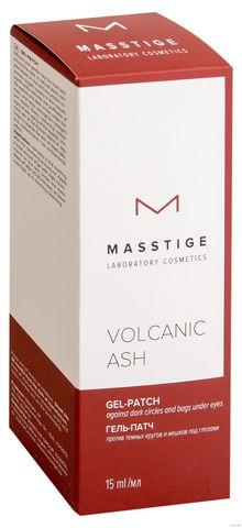 MASSTIGE Volcanic ASH Гель-патч против темных кругов и мешков под глазами 15мл
