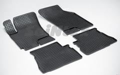 """Резиновые коврики """"Сетка"""" для Hyundai Getz (2002-2009)"""