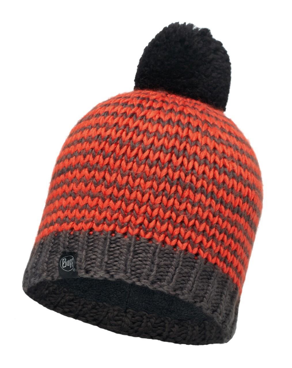 Шапки крупной вязки Вязаная шапка с флисовой подкладкой Buff Dorn Flame 113584.203.10.00.jpg