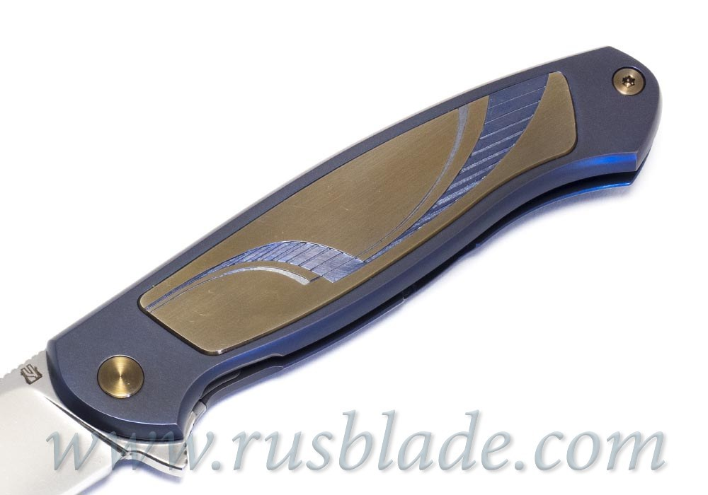 Cheburkov Custom Scout Titanium engraving