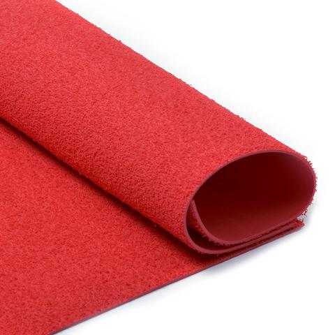 Фоамиран 2мм махровый. Цвет: красный