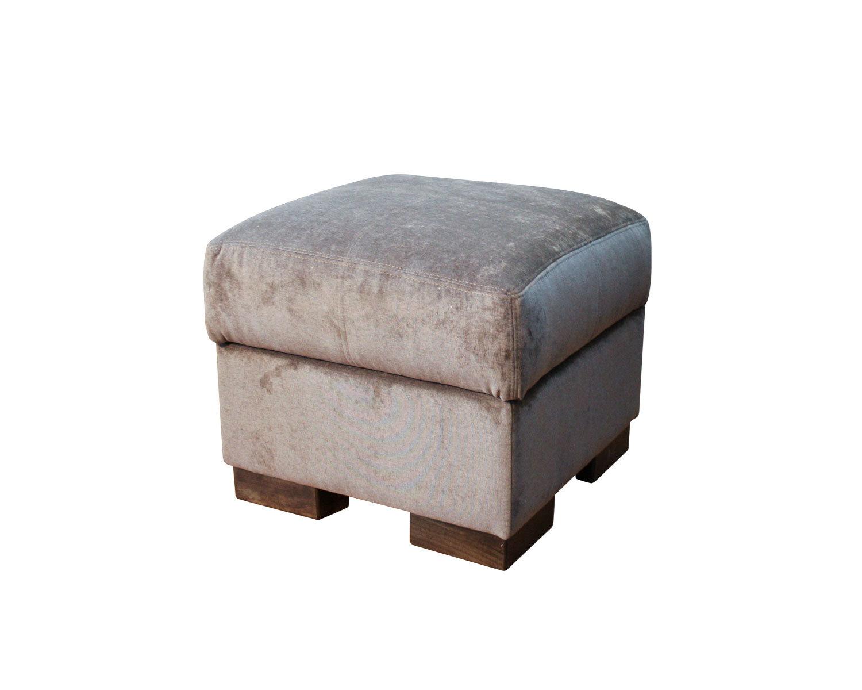Пуф Макс с ящиком 60х60 см