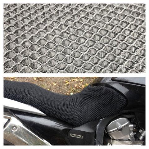 3d-сетка на сиденье мотоцикла (крупноячеистая)