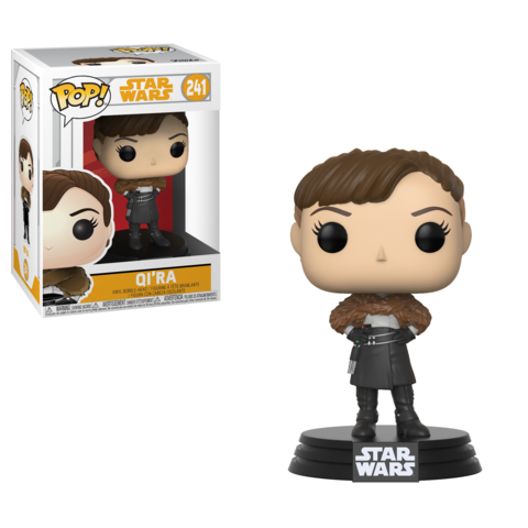 Фигурка Funko POP! Bobble: Star Wars: Solo: Qi'Ra POP 6 26977