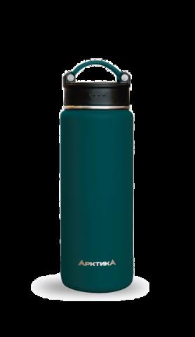 Термос Арктика (0,53 литра) с узким горлом, аквамарин