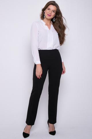 <p>Трикотажные брюки не просто удобны в носке, но еще и весьма популярны сегодня. Высокая посадка, талия на резинке. Присутствует эффект утяжки, что очень привлекательно для любой фигуры. Ткань очень приятная к телу. Цена Вас порадует.</p> <p>(Длина во всех размерах: 101 см)&nbsp;</p>
