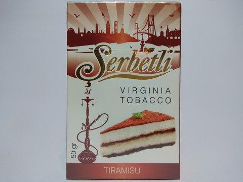 Табак для кальяна SERBETLI Tiramisu 50gr(Вышел срок)