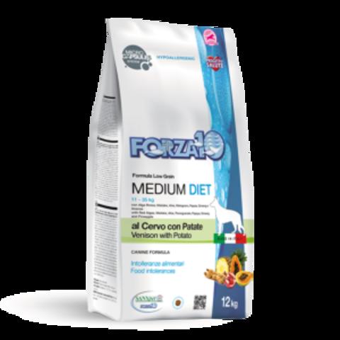 Forza10 Medium Diet Cervo/Patate из оленины и картофеля