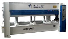 Гидравлический пресс горячего прессования Italmac GHVP (2500x1300) 1, 2, 3, пролета