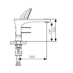 Смеситель KAISER Star 02222 на борт ванны схема