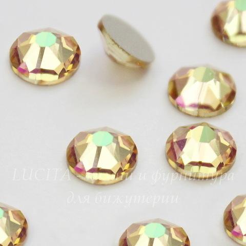 2088 Стразы Сваровски холодной фиксации Crystal Luminous Green ss30 (6,32-6,5 мм)