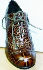 Ботильоны женские кожаные