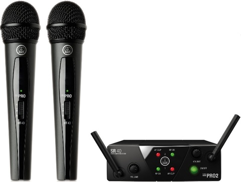 AKG WMS40 Mini2 Vocal Set BD US45A/C EU/US/UK вокальная радиосистема
