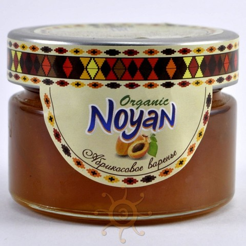 """Варенье из абрикоса """"Organic"""" Noyan, 150г"""