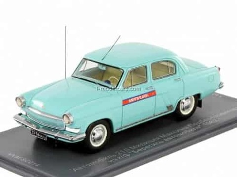 GAZ-21L Police of Maxim Podberezovikov movie Beware of the car 1962 1:43 VVM / VMM
