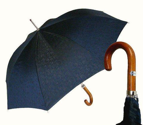 Зонт-трость Baldinini- 25-2 Jacquard blu