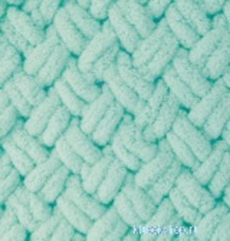Пряжа Alize Puffy 19 зеленая бирюза