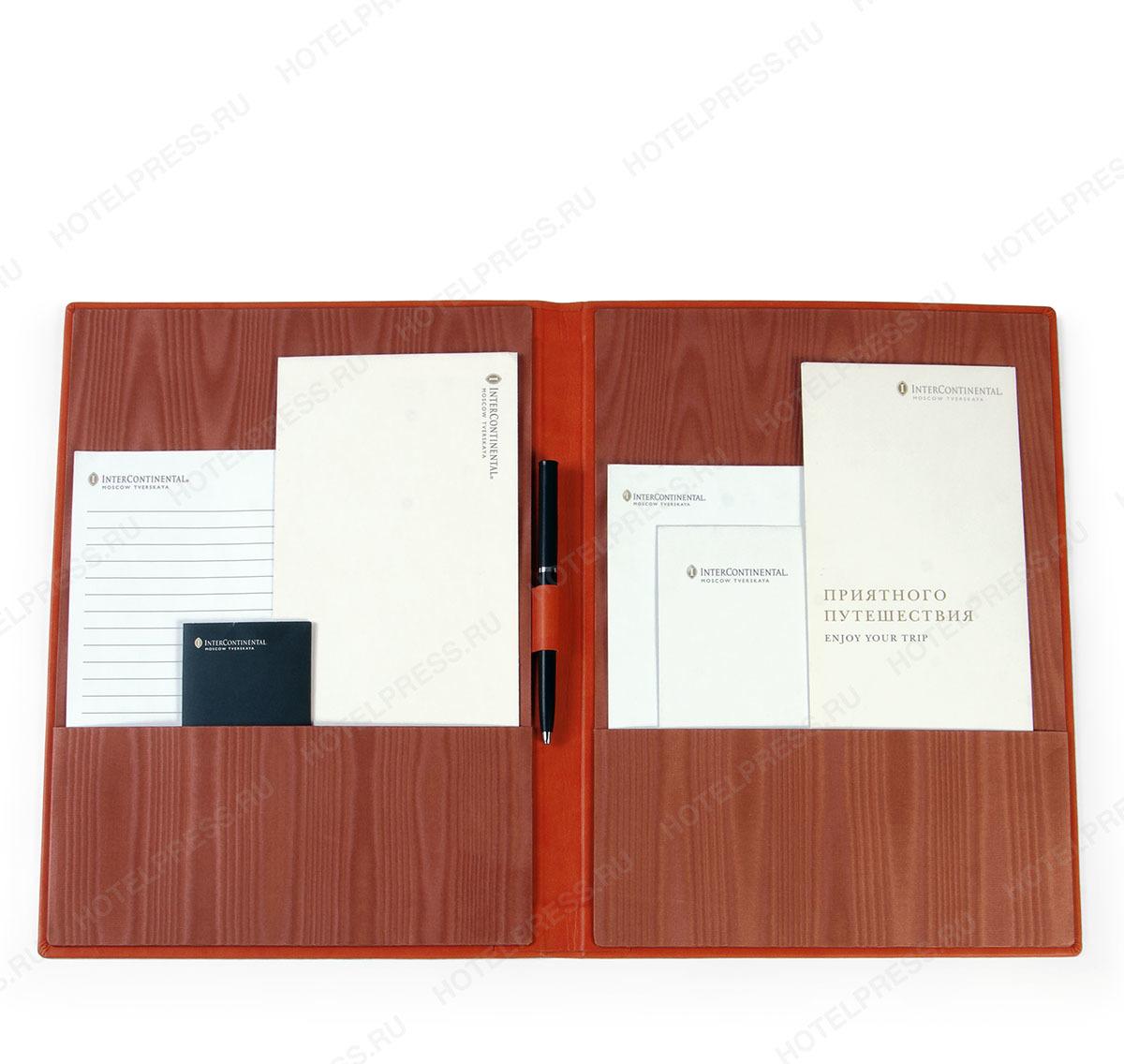 Папка для корреспонденции из комбинированных материалов. ПДК_2