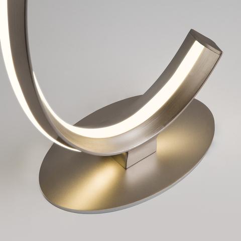 Настольный светодиодный светильник 80414/1 сатин-никель