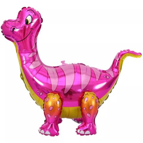 Динозавр Брахиозавр розовый