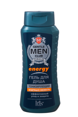Iris Gentlemen club Гель для душа Energy тонизирующий 400мл