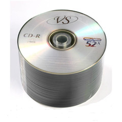 Диск CD-R VS 700 Mb 52x (50 штук в термопленке)