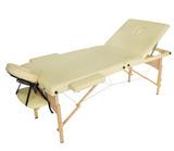 Массажный стол складной деревянный JF-AY01 три секции