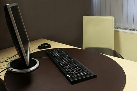 Бювар -накладка на стол- круглой формы